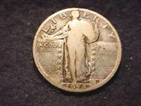 1928 STANDING LIBERTY QUARTER GOOD COIN  2