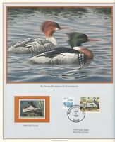 1994 - FEDERAL DUCK HUNTING PRINT - WITH MINT STAMP - SCOTT RW61, 2086, 2257
