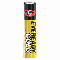 EVEREADY GOLD A92 ALKALINE BATTERY 1.5 V AAA ZINC MANGANESE DIOXIDE