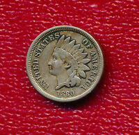 1860 INDIAN HEAD CENT  ROUND BUST VERY NICE CIRCULATED CENT