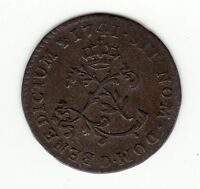 FRENCH COLONIAL 1741 D BILLON SOUS MARQUES VLACK 73 R4