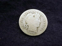 1902 BARBER DIME NICE COIN  1