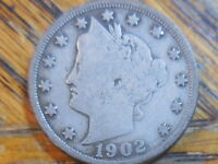 1902 LIBERTY HEAD NICKEL