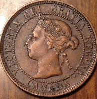 1897 CANADA LARGE 1 CENT IN BEAUTIFUL HIGH GRADE