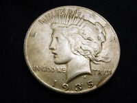 1935 S PEACE DOLLAR GREAT COIN    180