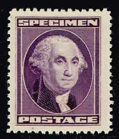 USA STAMP  SPECIMEN STAMP,  WASHINGTON PURPLE MNH/OG