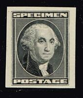 USA STAMP  SPECIMEN STAMP,  WASHINGTON BLACK MNH/OG