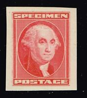 USA STAMP  SPECIMEN STAMP,  WASHINGTON RED MNH/OG