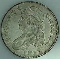 1812 BUST HALF DOLLAR AU DETAILS 50C US COIN LOT 1605
