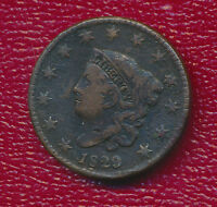 1829 MATRON HEAD LARGE CENT VERY STRONG FEATURES
