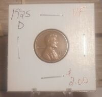 1925 D LINCOLN WHEAT CENT   VF ..PRICED TO SELL..