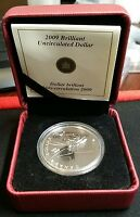 2009 CANADA 100TH ANNIVERSARY OF FLIGHT $1 PROOF SILVER DOLLAR WITH BOX & COA