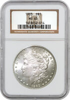 1903 $1 MORGAN SILVER DOLLAR VAM 8 DOUBLED UNITED STATES OF NGC MINT STATE 65