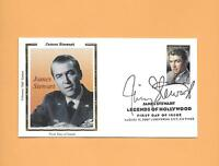 U.S. 2007 FDC FIRST DAY COVER 4197 JAMES JIMMY STEWART COLORANO SILK