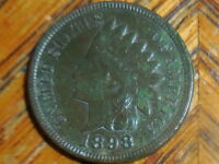 1898 INDIAN HEAD CENT SELLER'S  312