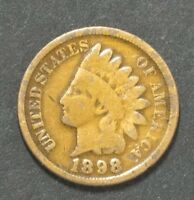 1898 INDIAN HEAD PENNY CENT