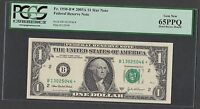 STAR NOTE  $1 2003A FRN NEW YORK  PCGS 65 PPQ ONLY 320,000 NOTES PRINTED