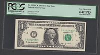 STAR NOTE  $1 2003A FRN PHILLY  PCGS 64 PPQ ONLY 320,000 NOTES PRINTED
