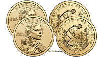 2009 P & D SACAGAWEA DOLLARS FROM US MINT ROLL CP2538