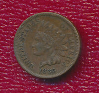 1865 INDIAN HEAD CENT FULLY VISIBLE LIBERTY SHIPS FREE