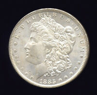 1885-O  VAM 26 DOUBLED 18  MORGAN DOLLAR 706-407