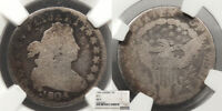 1805 DRAPED BUST 10 CENTS DIME 4 BERRIES; JR 2 NGC AG 3