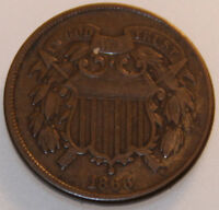 1866-P TWO CENT PIECE [SN03]