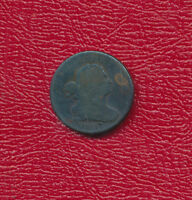 1807 DRAPED BUST COPPER HALF CENT   GOOD  SHIPS FREE