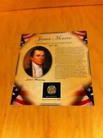 2008 PRESIDENT JAMES MONROE  DOLLARSTAMPS POSTAL COMMEMORATIVE SOCIETY