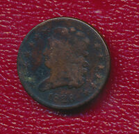 1828 CLASSIC HEAD HALF CENT VERY NICE CIRCULATED HALF CENT