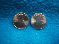 2016 P & D LINCOLN SHIELD CENT UNCIRCULATED 2 COINS
