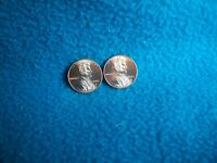 2017 P & D LINCOLN SHIELD CENT UNCIRCULATED 2 COINS