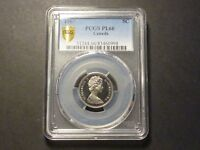 CANADA 1967 PCGS SHIELD PL 66   ONLY ONE GRADED HIGHER NICE CAMEO
