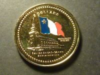MINTAGE OF ONLY 15   NS89A 2006 BAIE SAINTE MARIE NS ENAMELLED GOLD PLATED
