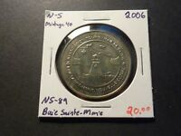 MINTAGE OF 40   NS89 2006 BAIE SAINTE MARIE NS NICKEL SILVER ISSUE