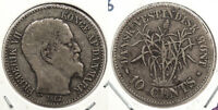 DANISH WEST INDIES: 1862 10 CENTS MINTAGE 140 000 WC73801