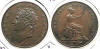 GREAT BRITAIN: 1826 HALFPENNY WC64430