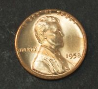 1958 LINCOLN CENT PENNY UNCIRCULATED