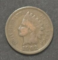 1902 INDIAN HEAD PENNY CENT