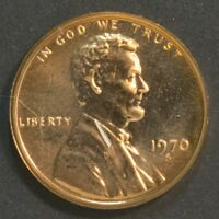 1970 S LINCOLN CENT PENNY PROOF LARGE DATE