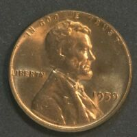 1959  P  LINCOLN CENT PENNY TONING