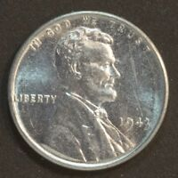 1943  P  LINCOLN CENT PENNY STEEL