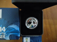 2012 50 CENT SILVER PROOF COIN: