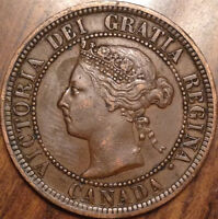 1888 CANADA LARGE 1 CENT PENNY IN