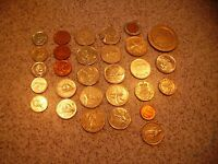 MIXED LOT OF 29   PIECES OF FOREIGN COIN