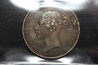 1839 GREAT BRITAIN. SHILLING. ICCS GRADED.