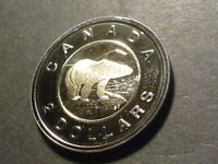 CANADA TWO DOLLARS 2007 PROOF LIKE STRIKE WITH