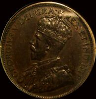 1917 CANADA CENT BEAUTIFUL DETAIL
