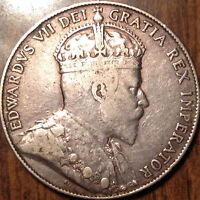 1909 CANADA SILVER FIFTY 50 CENTS IN
