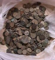 UNCLEANED AND UNSORTED ROMAN COINS FROM ISRAEL  10 PER BIDDING/BUYING